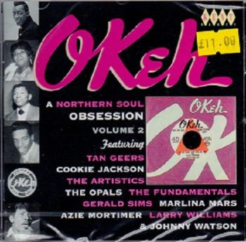 VARIOUS - OKEH A NORTHERN SOUL OBSESSION VOL 2
