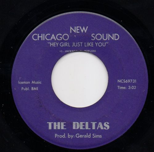THE DELTAS - HEY GIRL JUST LIKE YOU