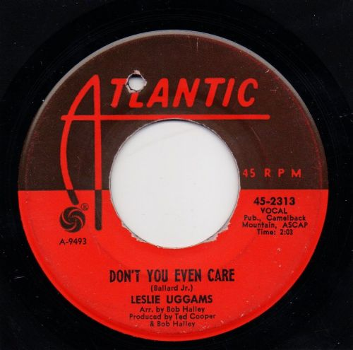 LESLIE UGGAMS - DON'T YOU EVEN CARE