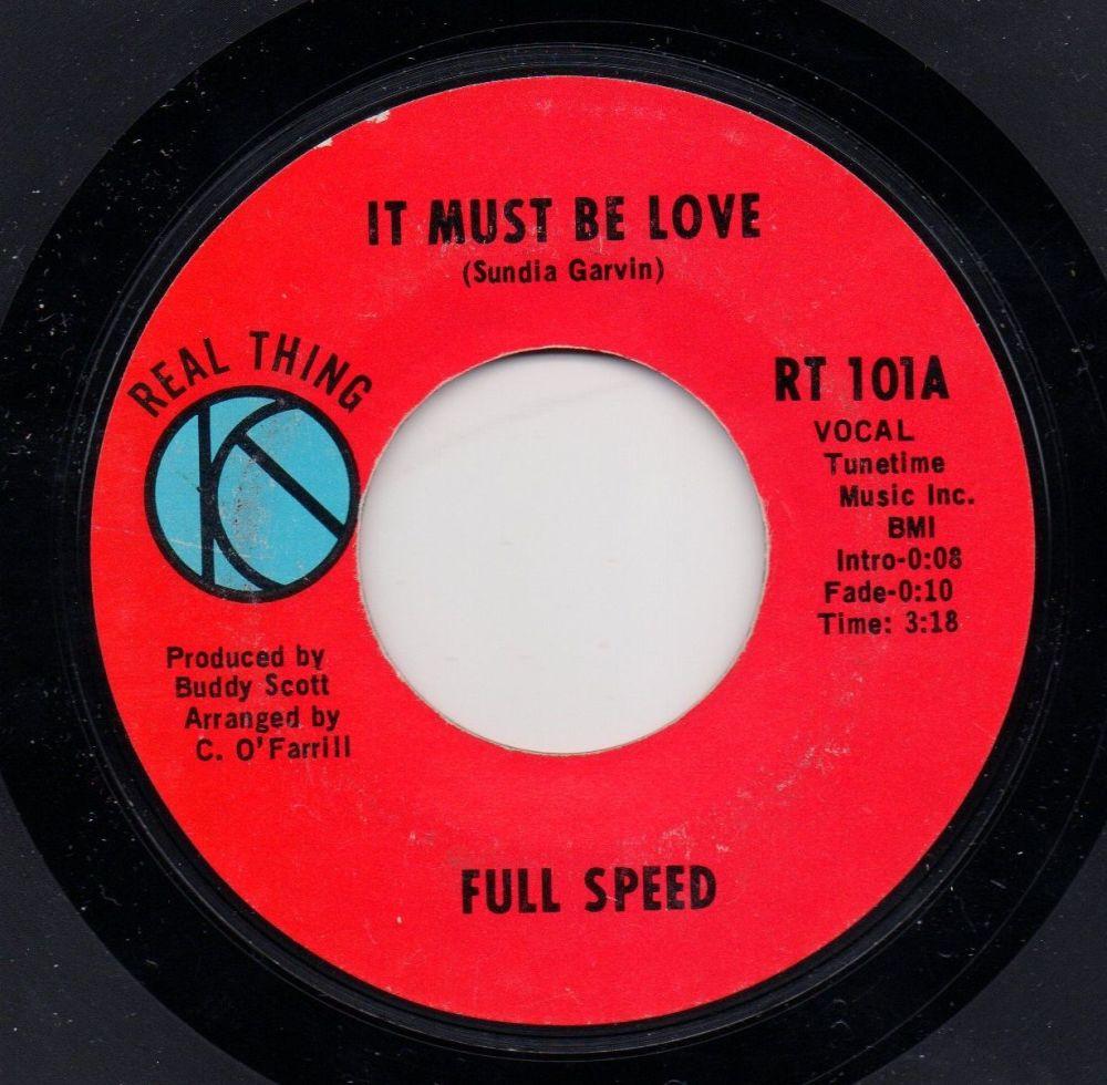 FULL SPEED - IT MUST BE LOVE