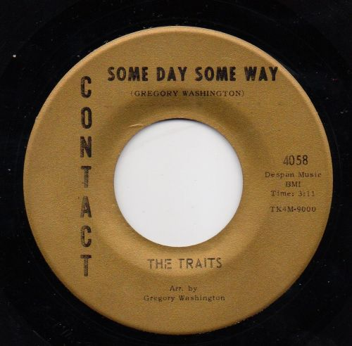 THE TRAITS - SOME DAY SOME WAY