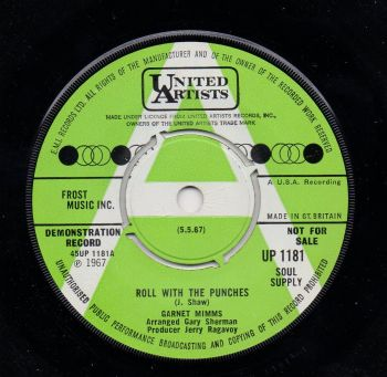 GARNET MIMMS - ROLL WITH THE PUNCHES