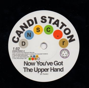 CANDI STATON - NOW YOU'VE GOT THE UPPER HAND
