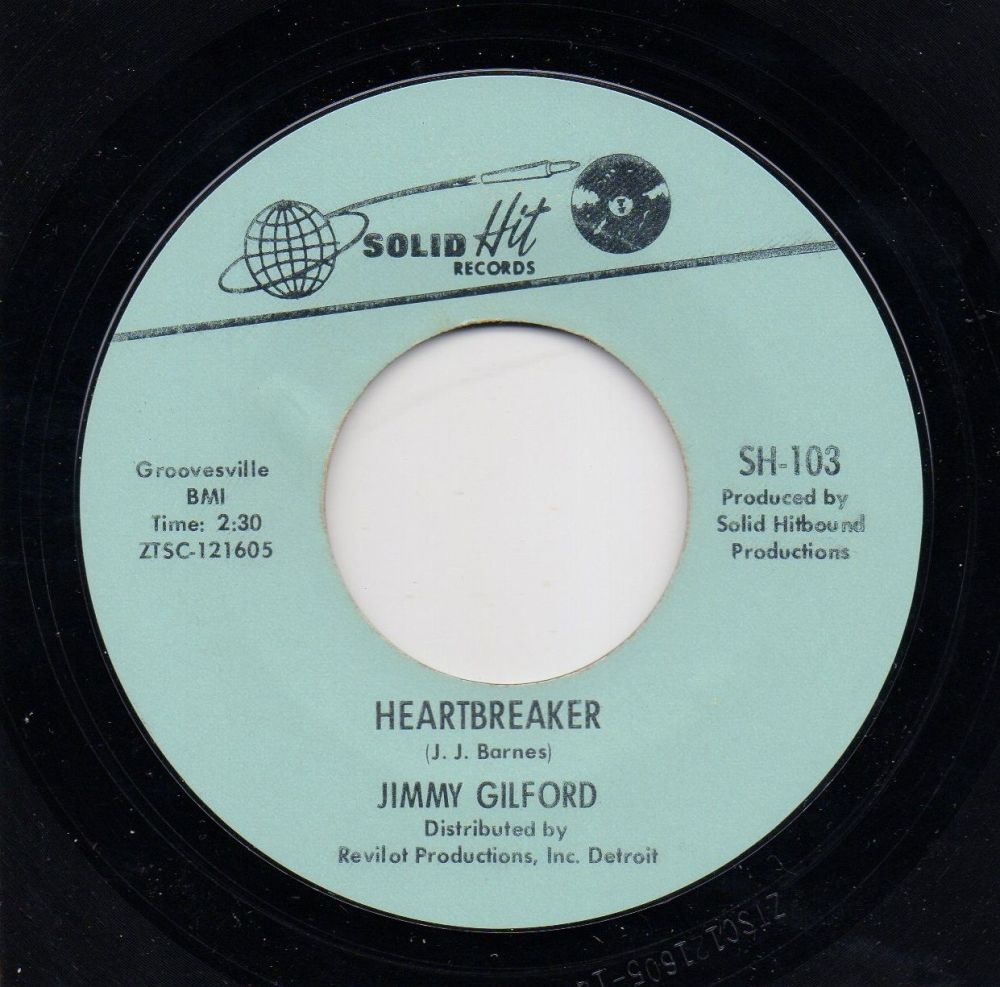 JIMMY GILFORD - HEARBREAKER