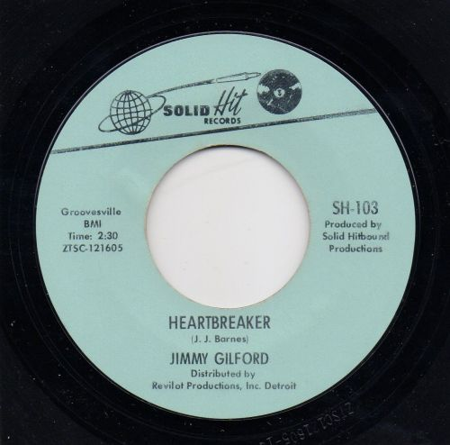 JIMMY GILFORD - HEARBREAKER