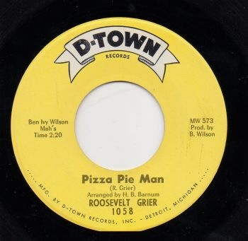 ROOSEVELT GRIER - PIZZA PIE MAN