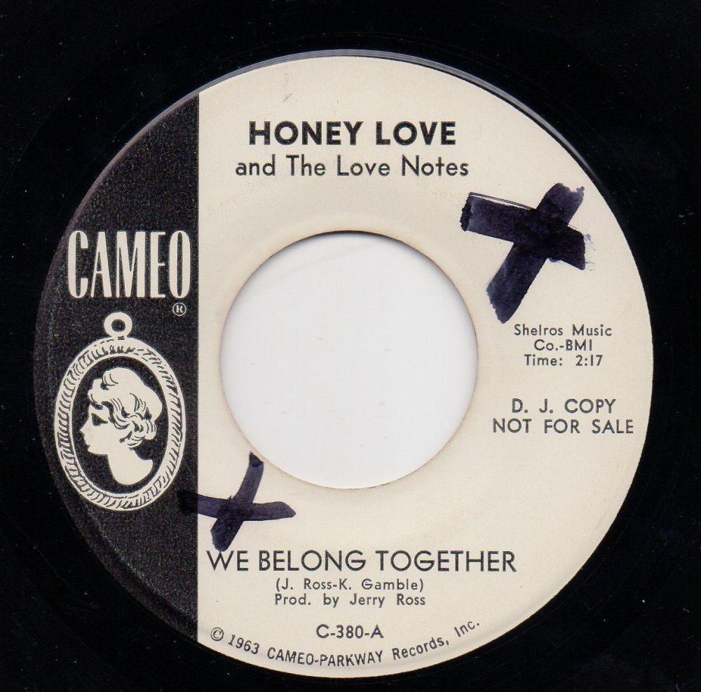 HONEY LOVE & THE LOVE NOTES - WE BELONG TOGETHER