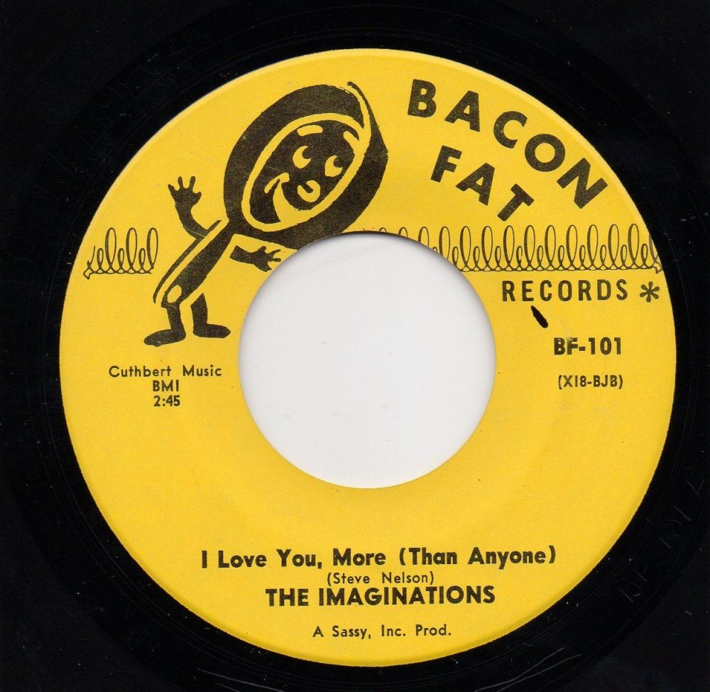 THE IMAGINATIONS - I LOVE YOU, MORE (THAN ANYONE)
