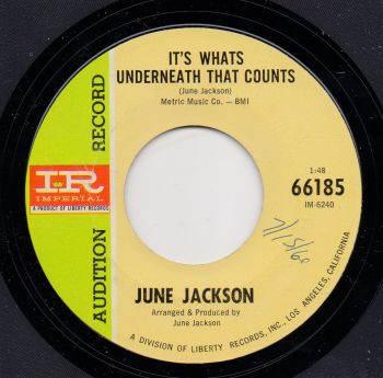 JUNE JACKSON - IT'S WHATS UNDERNEATH THAT COUNTS
