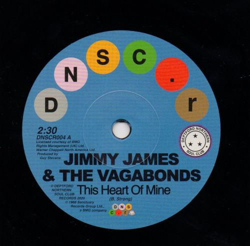 JIMMY JAMES & THE VAGABONDS - THIS HEART OF MINE