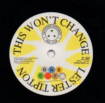 LESTER TIPTON - THIS WON'T CHANGE