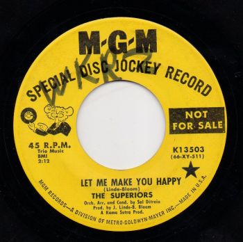 SUPERIORS - LET ME MAKE YOU HAPPY