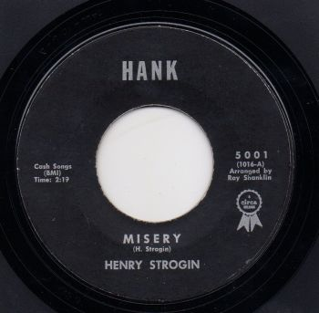 HENRY STROGIN - MISERY