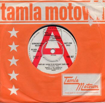 MARTHA & THE VANDELLAS - WHAT AM I GOING TO DO WITHOUT YOUR LOVE