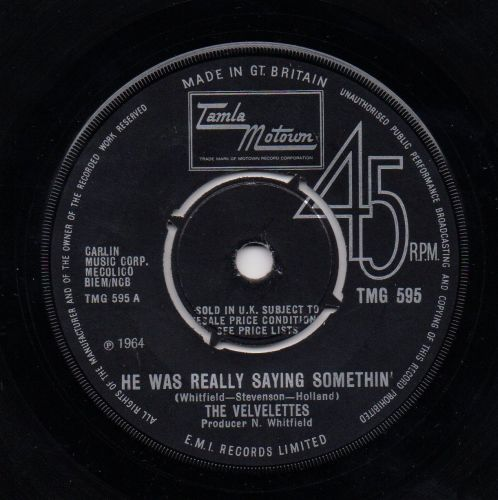 THE VELVELETTES - HE WAS REALLY SAYING SOMETHIN'