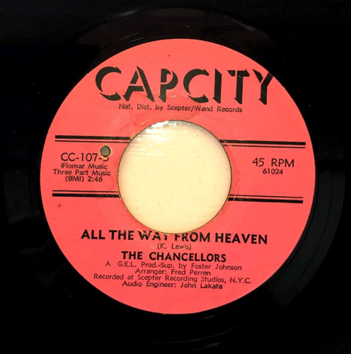 THE CHANCELLORS - ALL THE WAY FROM HEAVEN