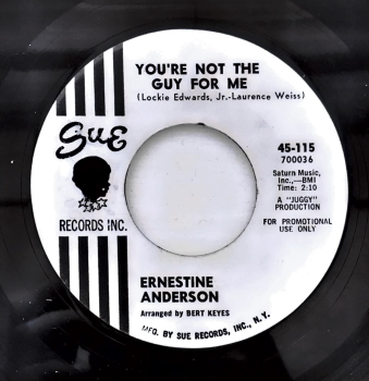 ERNESTINE ANDERSON - YOU'RE NOT THE GUY FOR ME