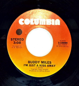 BUDDY MILES - I'M JUST A KISS AWAY