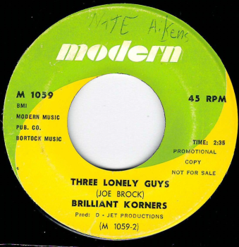 BRILLIANT KORNERS - THREE LONELY GUYS