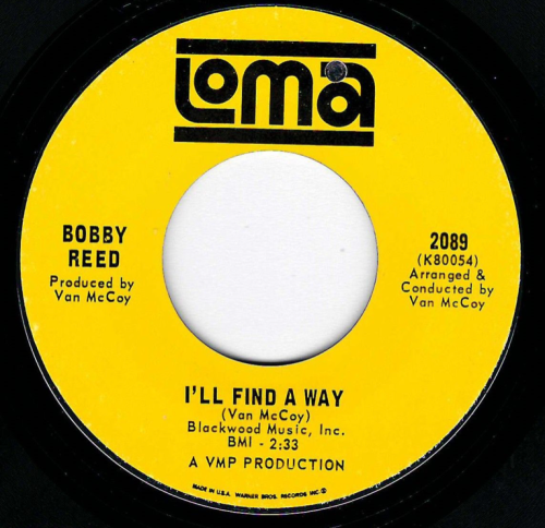 BOBBY REED - I'LL FIND A WAY