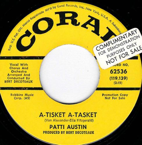 PATTI AUSTIN - A-TISKET A-TASKET