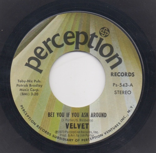 VELVET - BET YOU IF YOU ASK AROUND