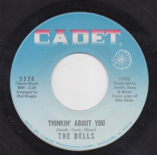 DELLS - THINKIN' ABOUT YOU