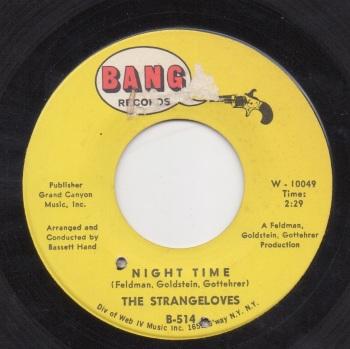 STRANGELOVES - NIGHT TIME