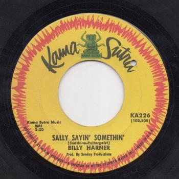 BILLY HARNER - SALLY SAYIN' SOMETHIN'