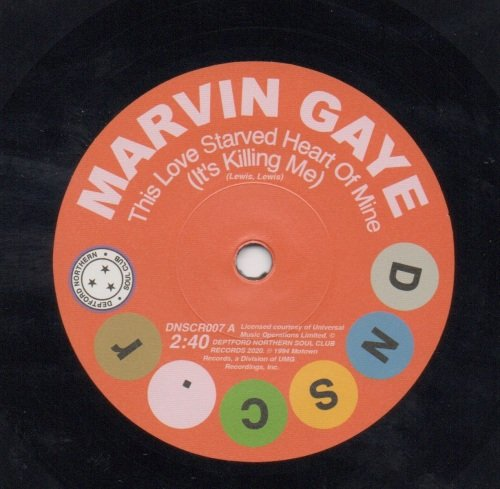 MARVIN GAYE - THIS LOVE STARVED HEART OF MINE (IS KILLING ME)