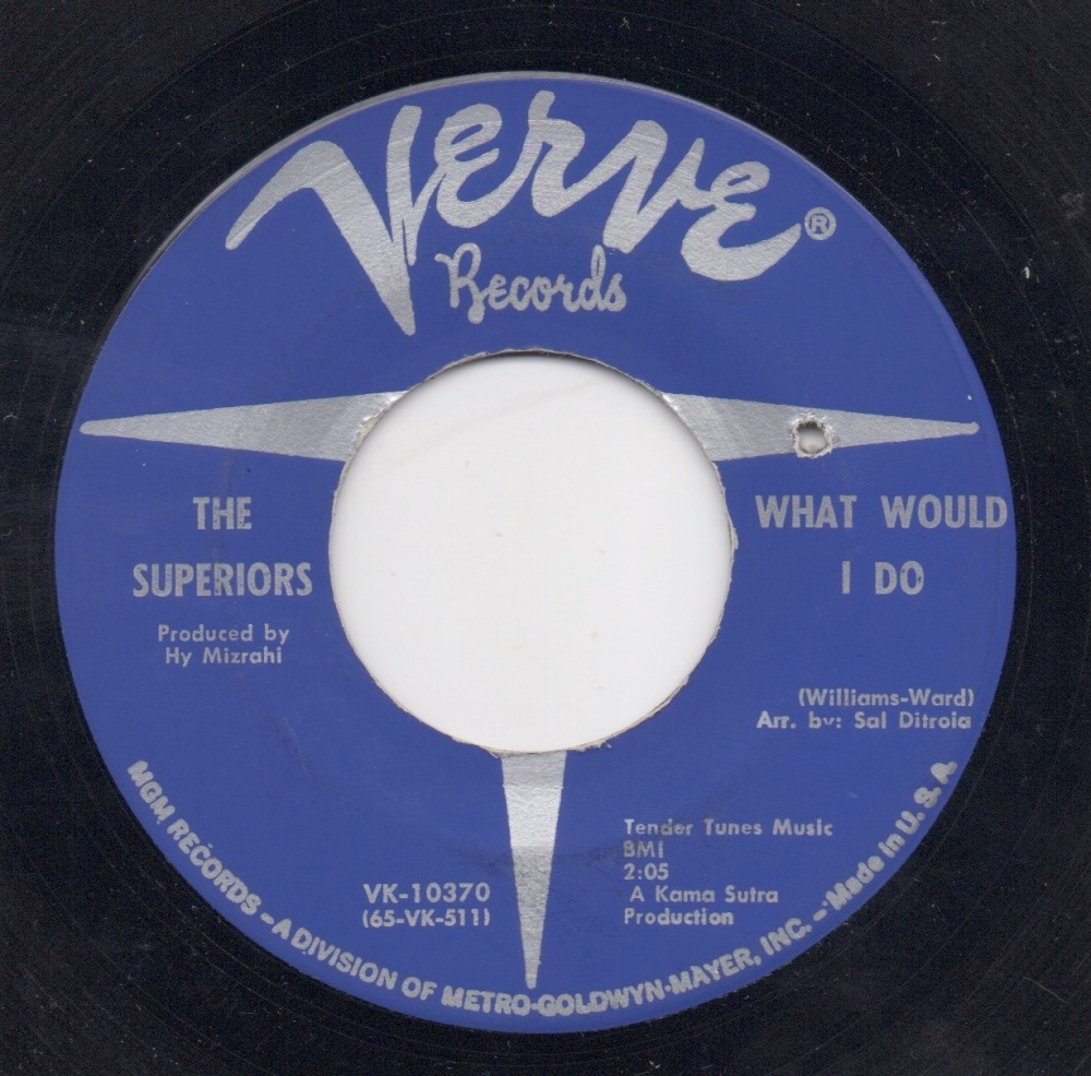 THE SUPERIORS - WHAT WOULD I DO