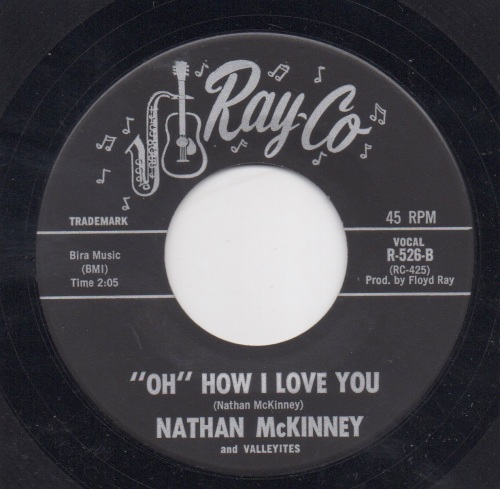 NATHAN McKINNEY & THE VALLEYITES - 'OH' HOW I LOVE YOU