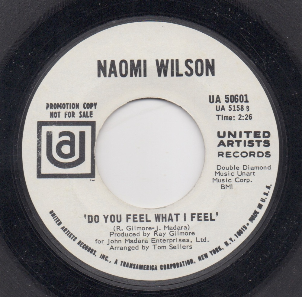 NAOMI WILSON - DO YOU FEEL WHAT I FEEL