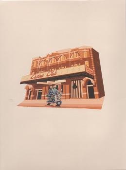 3D, POP-UP CASINO CLUB CARD