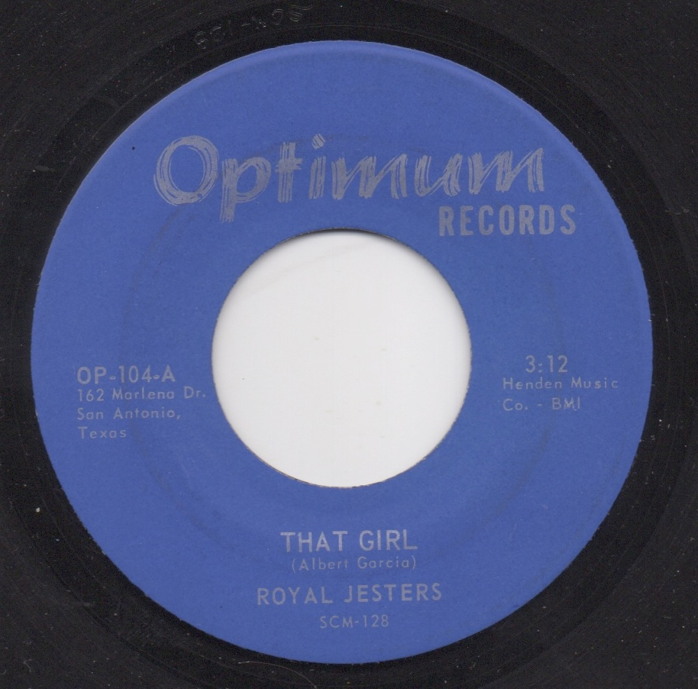 ROYAL JESTERS - THAT GIRL