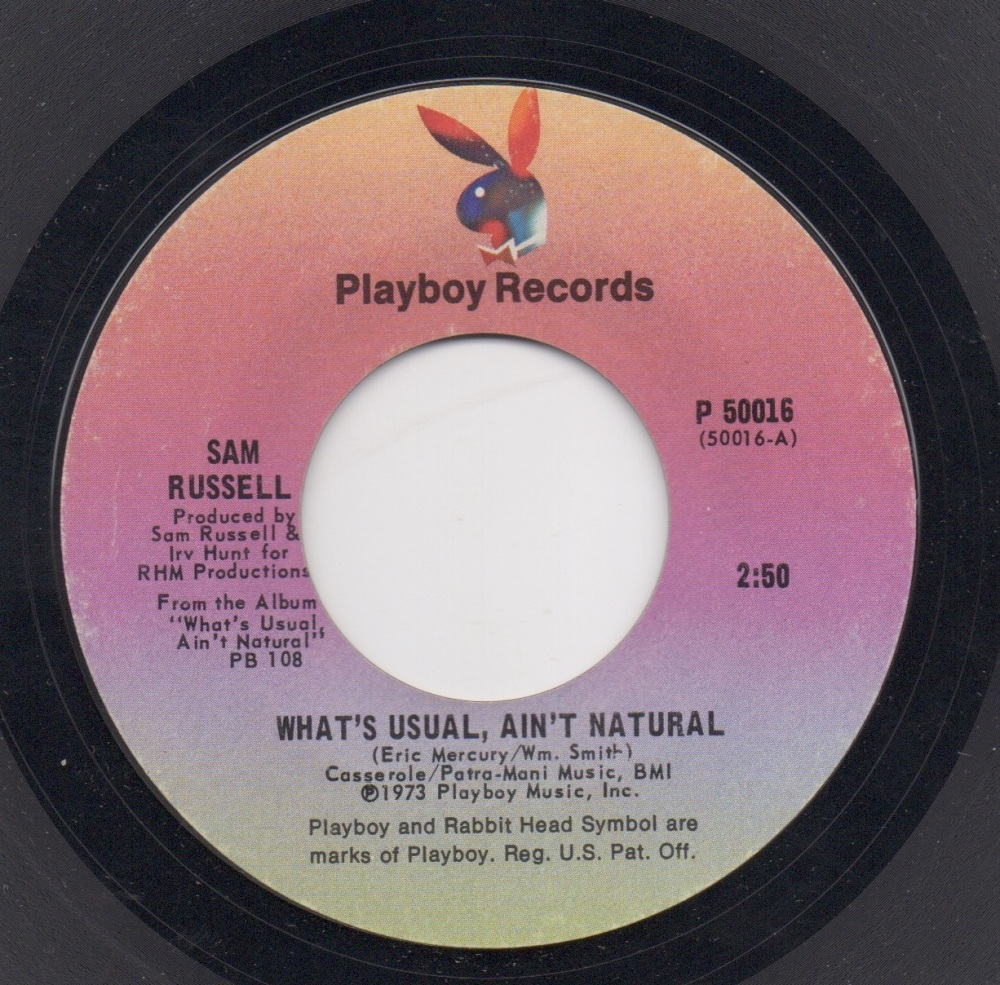 SAM RUSSELL - WHAT'S USUAL, AIN'T NATURAL