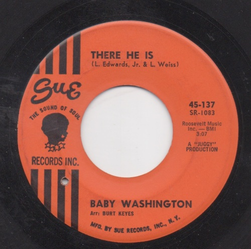 BABY WASHINGTON - THERE HE IS