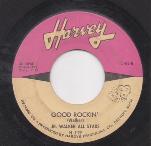 JR. WALKER ALL STARS - GOOD ROCKIN'