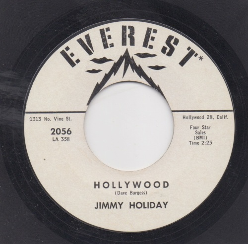 JIMMY HOLIDAY - HOLLYWOOD