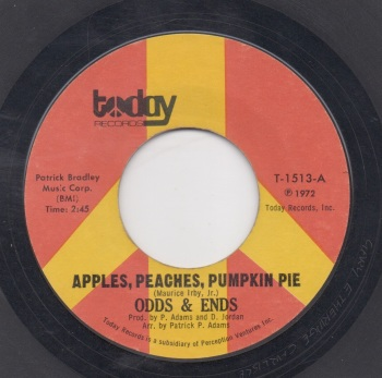 ODDS & ENDS - APPLES, PEACHES, PUMPKIN PIE