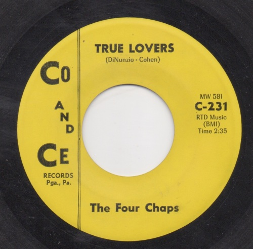 THE FOUR CHAPS - TRUE LOVERS
