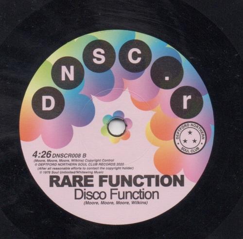 RARE FUNCTION - DISCO FUNCTION