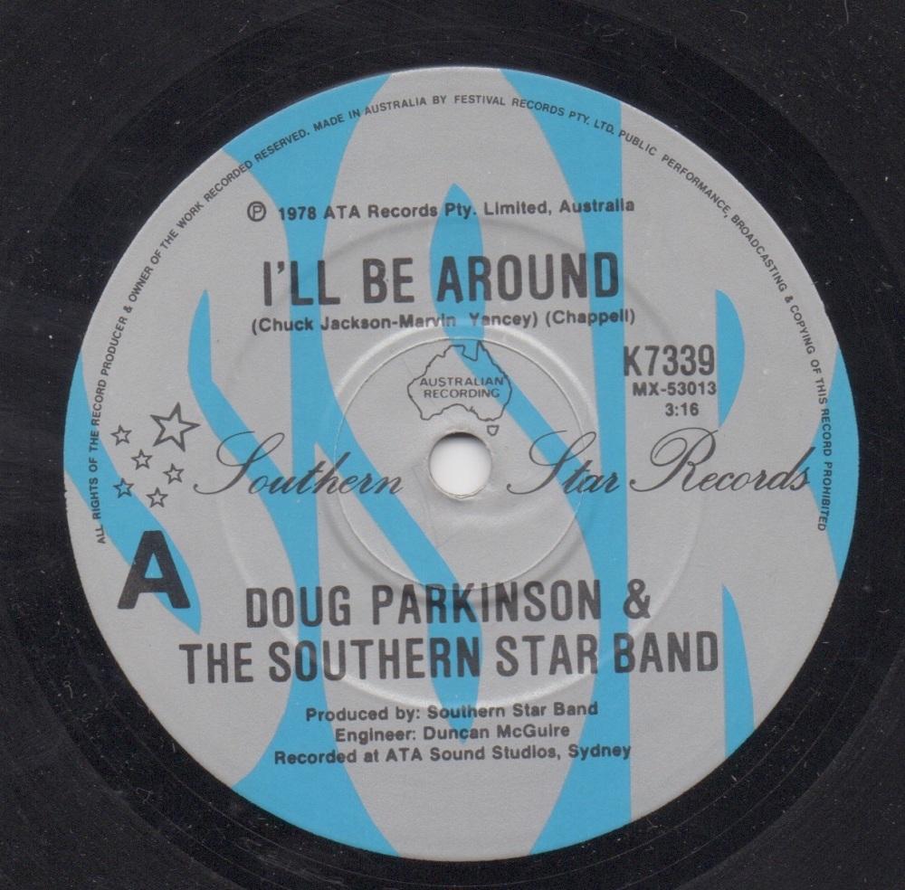 DOUG PARKINSON & THE SOUTHERN STAR BAND - I'LL BE AROUND