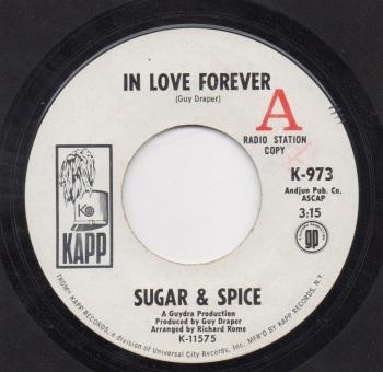 SUGAR & SPICE - IN LOVE FOREVER