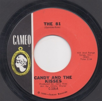 CANDY AND THE KISSES - THE 81