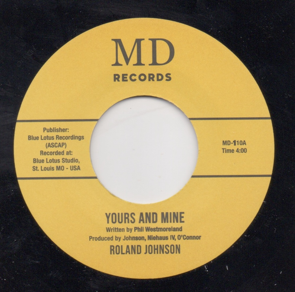 ROLAND JOHNSON - YOURS AND MINE