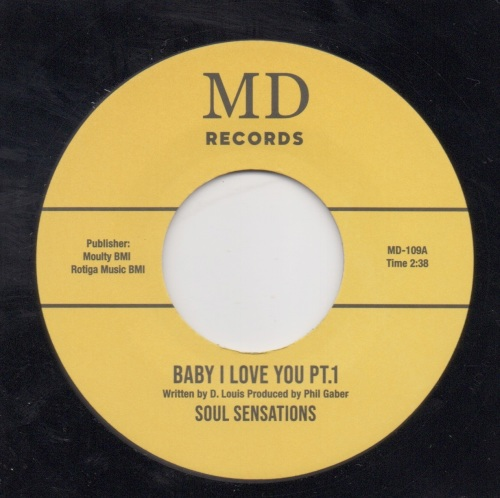 SOUL SENSATIONS - BABY I LOVE YOU PT. 1