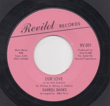 DARRELL BANKS - OUR LOVE (IS IN THE POCKET)