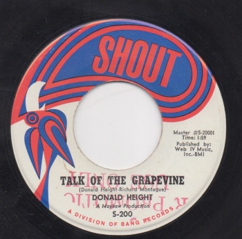 DONALD HEIGHT - TALK OF THE GRAPEVINE