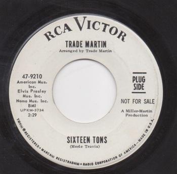 TRADE MARTIN - SIXTEEN TONS